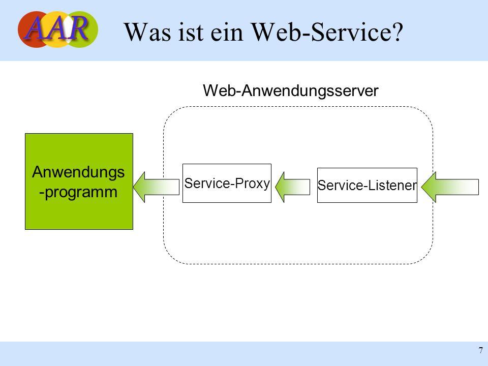 Was ist ein Web-Service