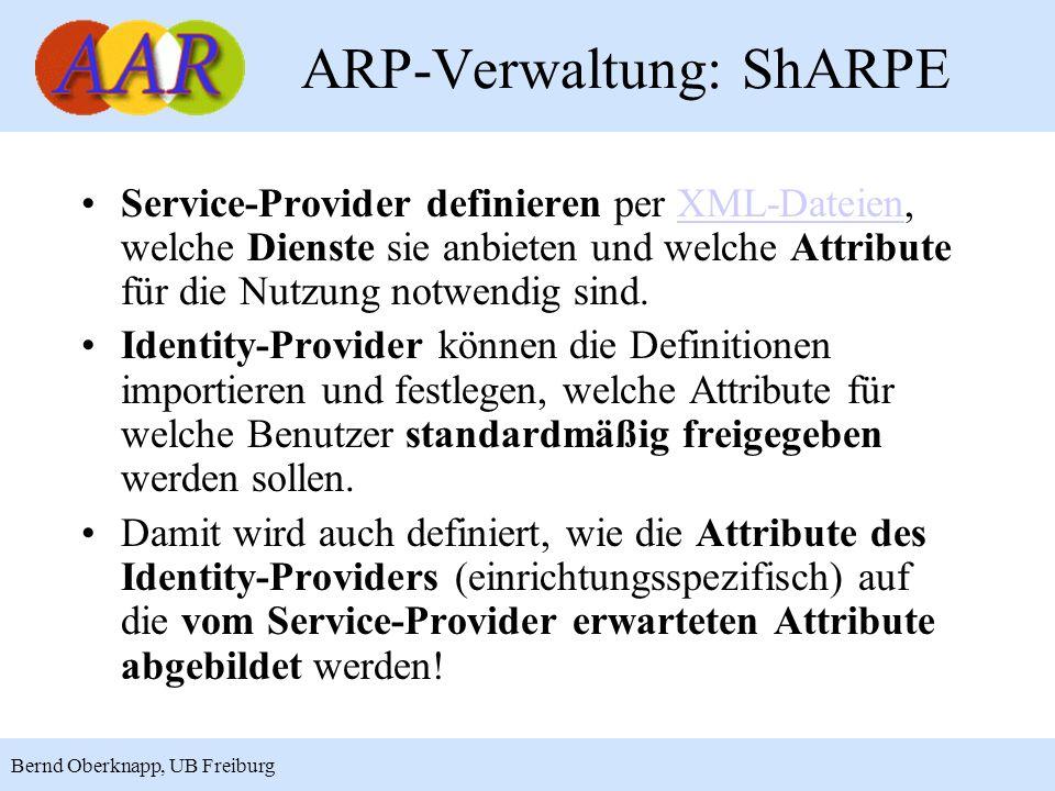 ARP-Verwaltung: ShARPE