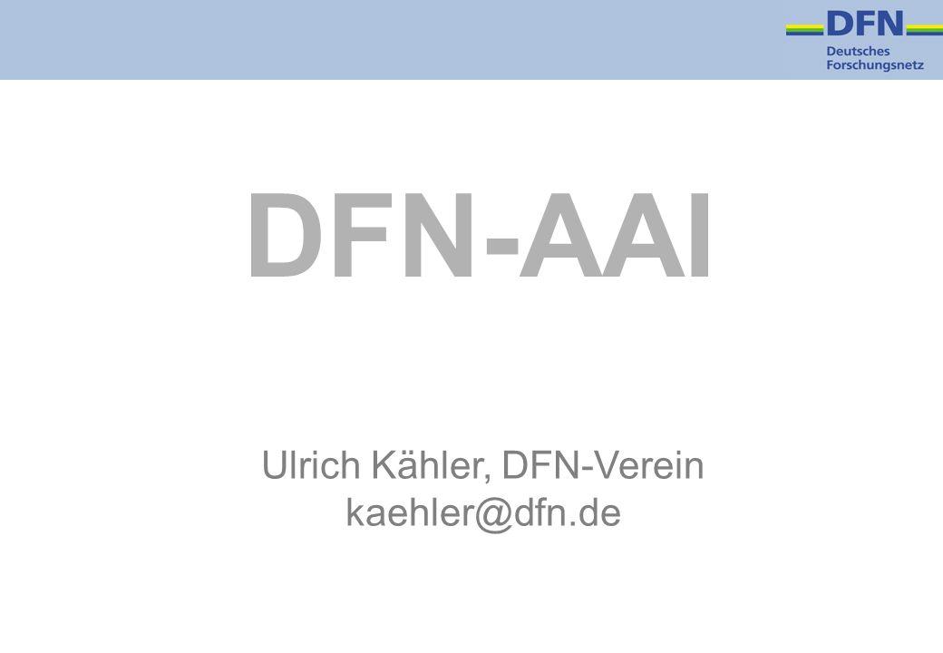 Ulrich Kähler, DFN-Verein