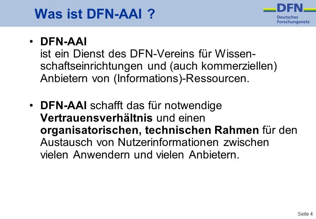Was ist DFN-AAI
