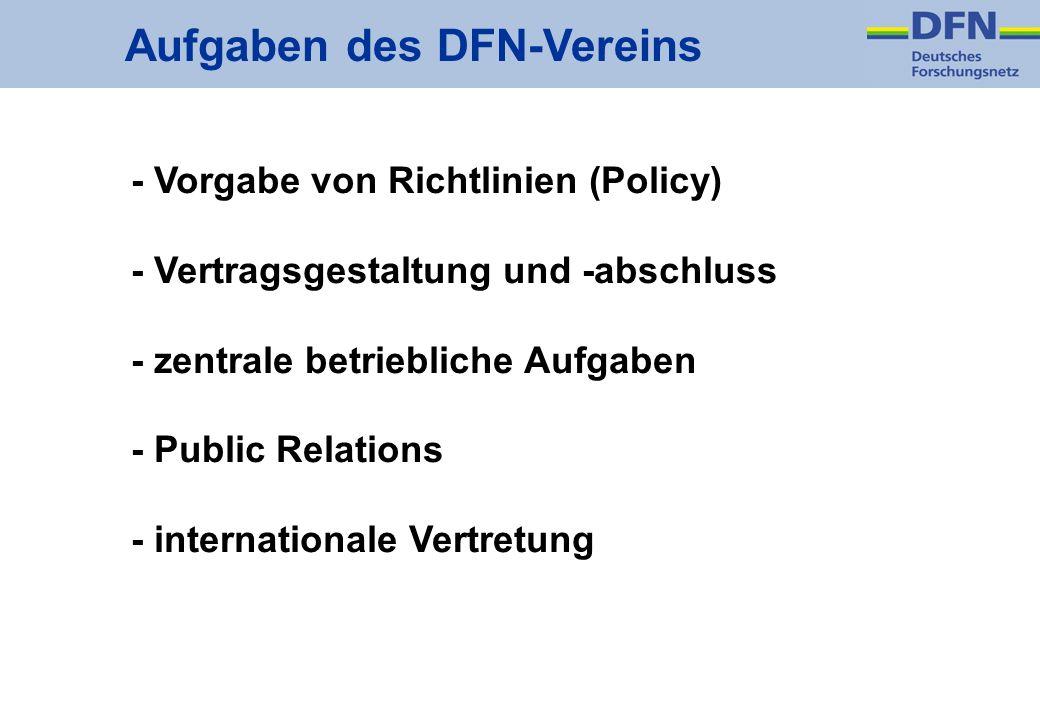Aufgaben des DFN-Vereins