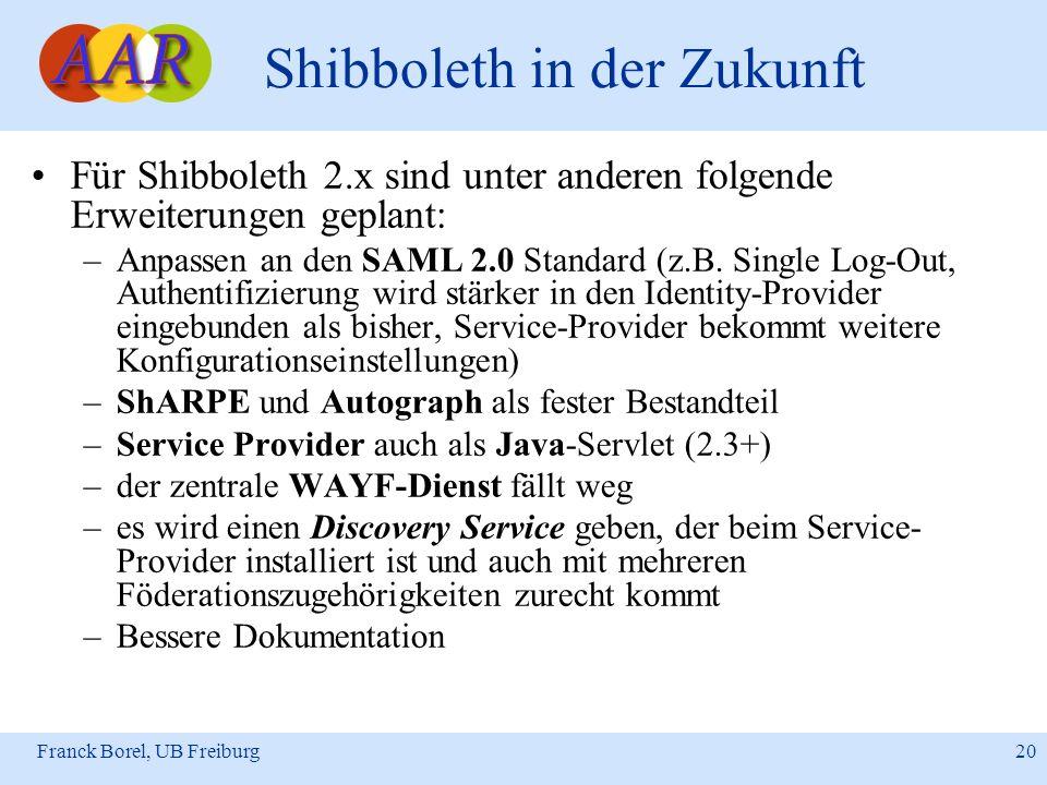 Shibboleth in der Zukunft