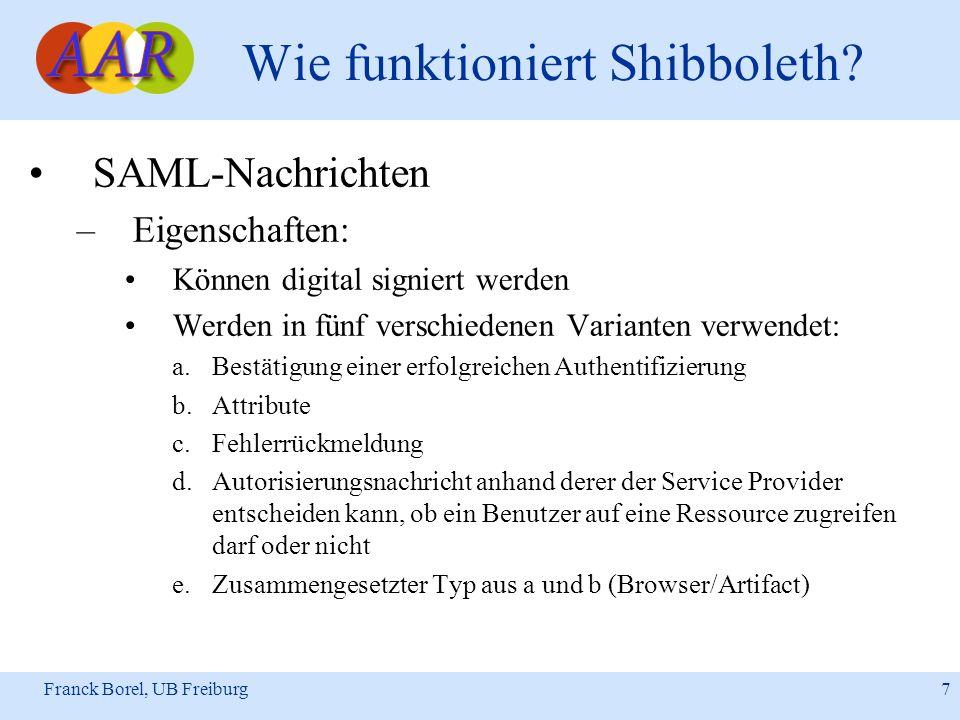 Wie funktioniert Shibboleth