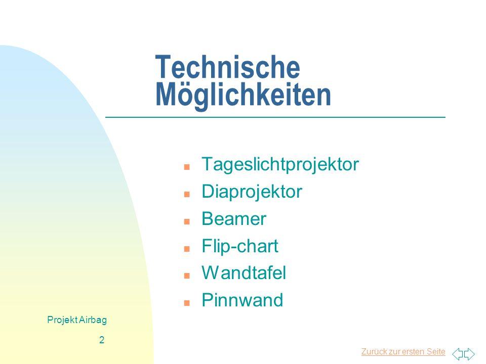 Technische Möglichkeiten
