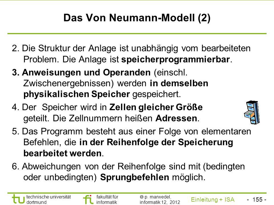 Das Von Neumann-Modell (2)
