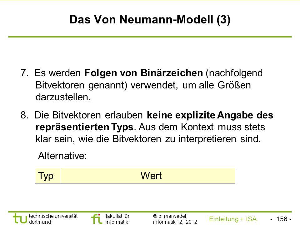 Das Von Neumann-Modell (3)