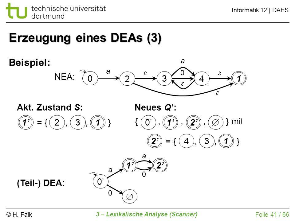 Erzeugung eines DEAs (3)