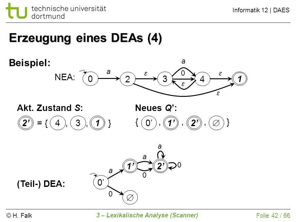 Erzeugung eines DEAs (4)