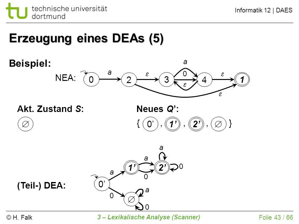 Erzeugung eines DEAs (5)