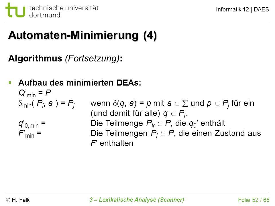 Automaten-Minimierung (4)
