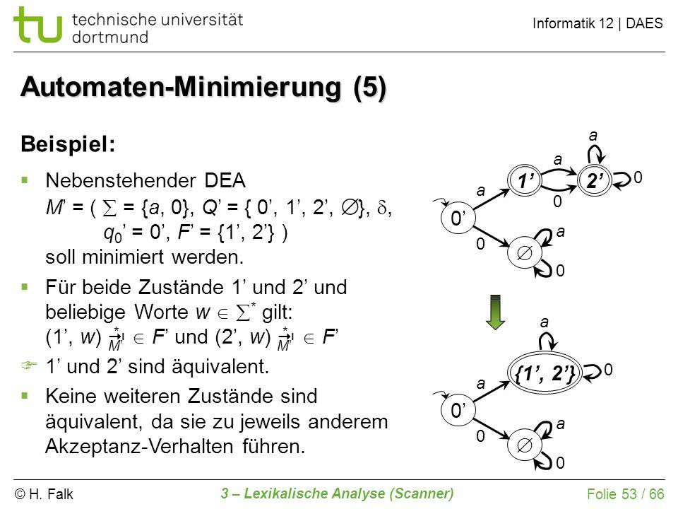 Automaten-Minimierung (5)