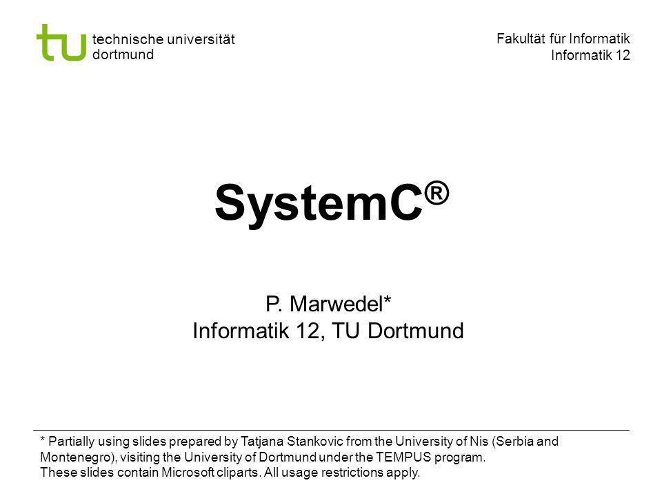Informatik 12, TU Dortmund