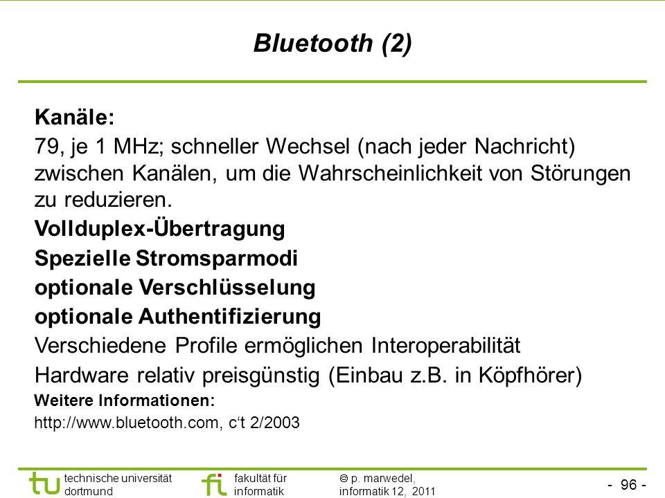 Bluetooth (2)Kanäle: