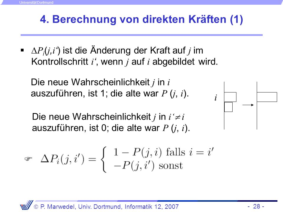 4. Berechnung von direkten Kräften (1)