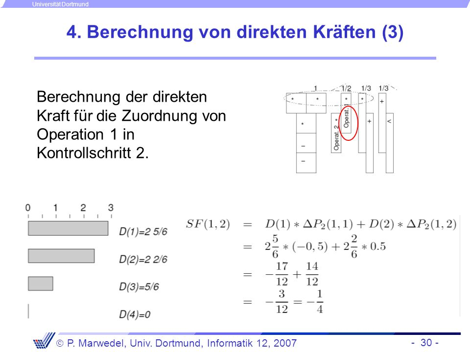 4. Berechnung von direkten Kräften (3)