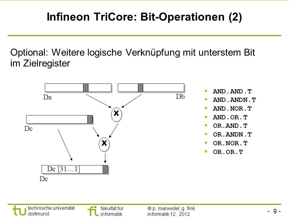 Infineon TriCore: Bit-Operationen (2)