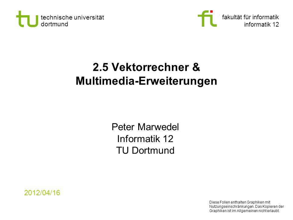 2.5 Vektorrechner & Multimedia-Erweiterungen