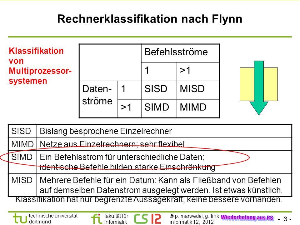 Rechnerklassifikation nach Flynn
