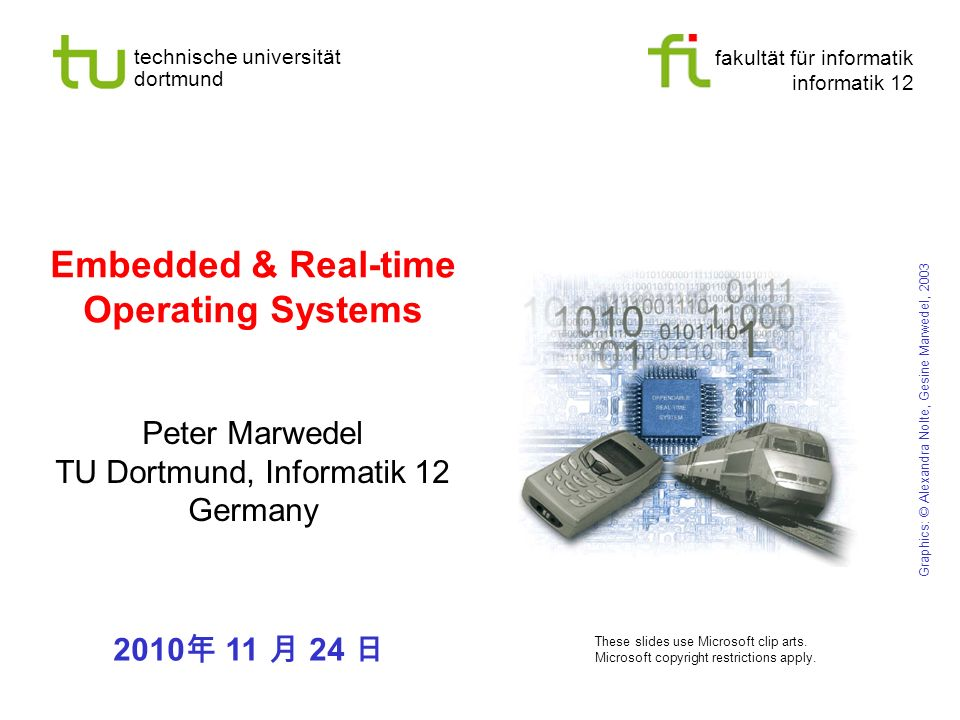 Embedded & Real-time Operating Systems