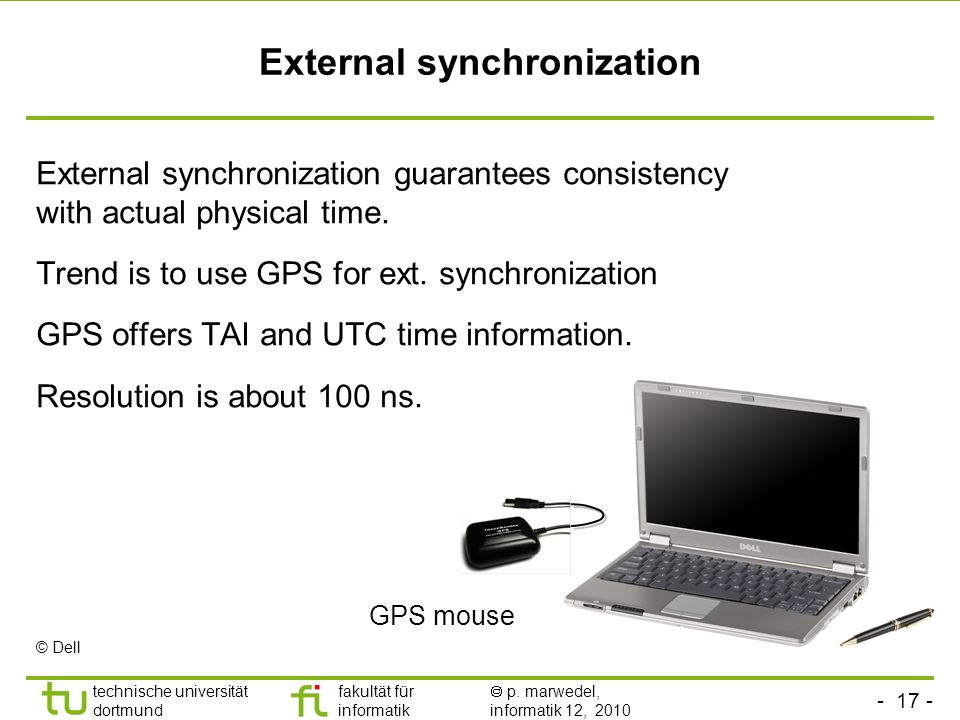 External synchronization