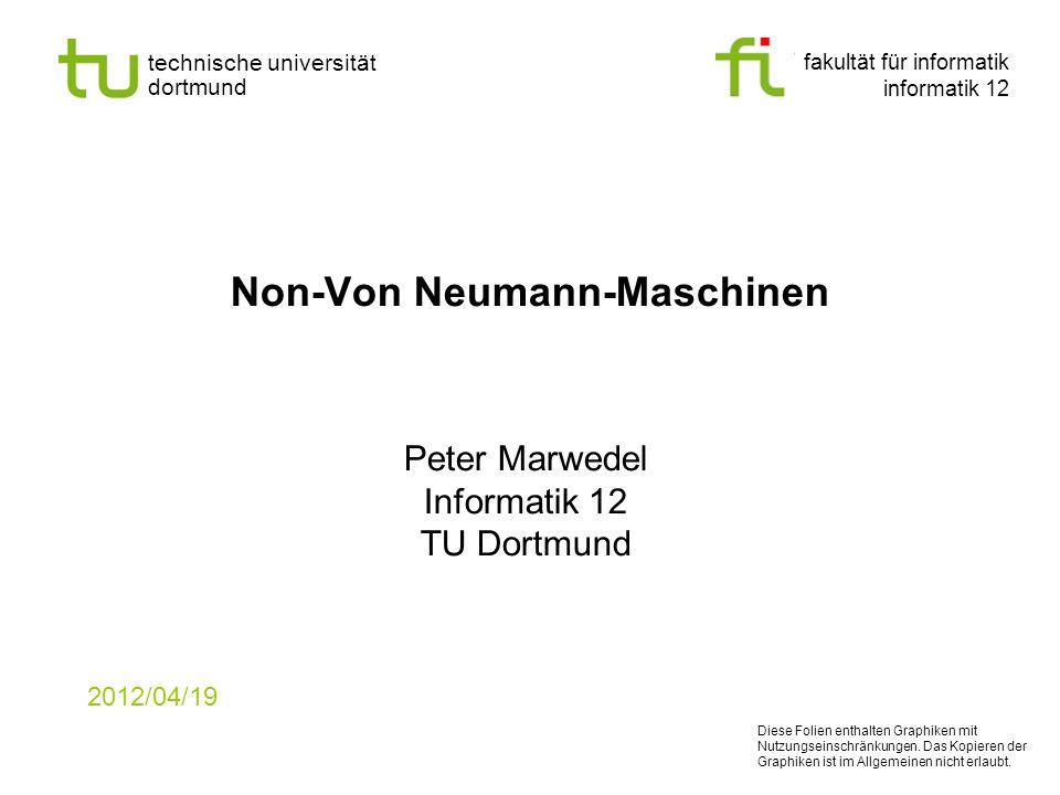 Non-Von Neumann-Maschinen