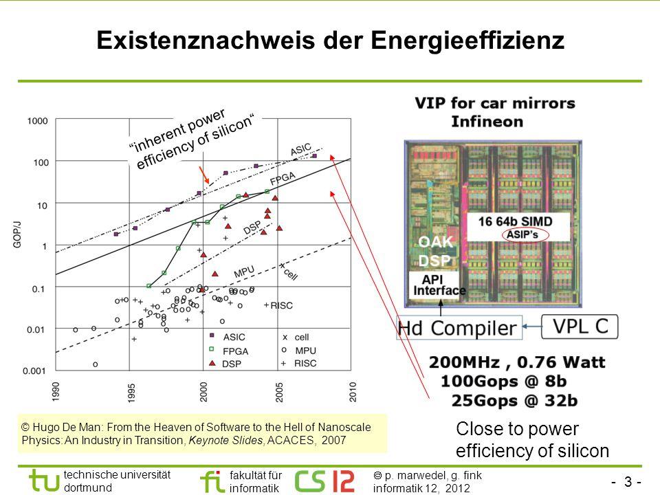 Existenznachweis der Energieeffizienz