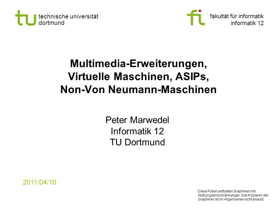 Peter Marwedel Informatik 12 TU Dortmund