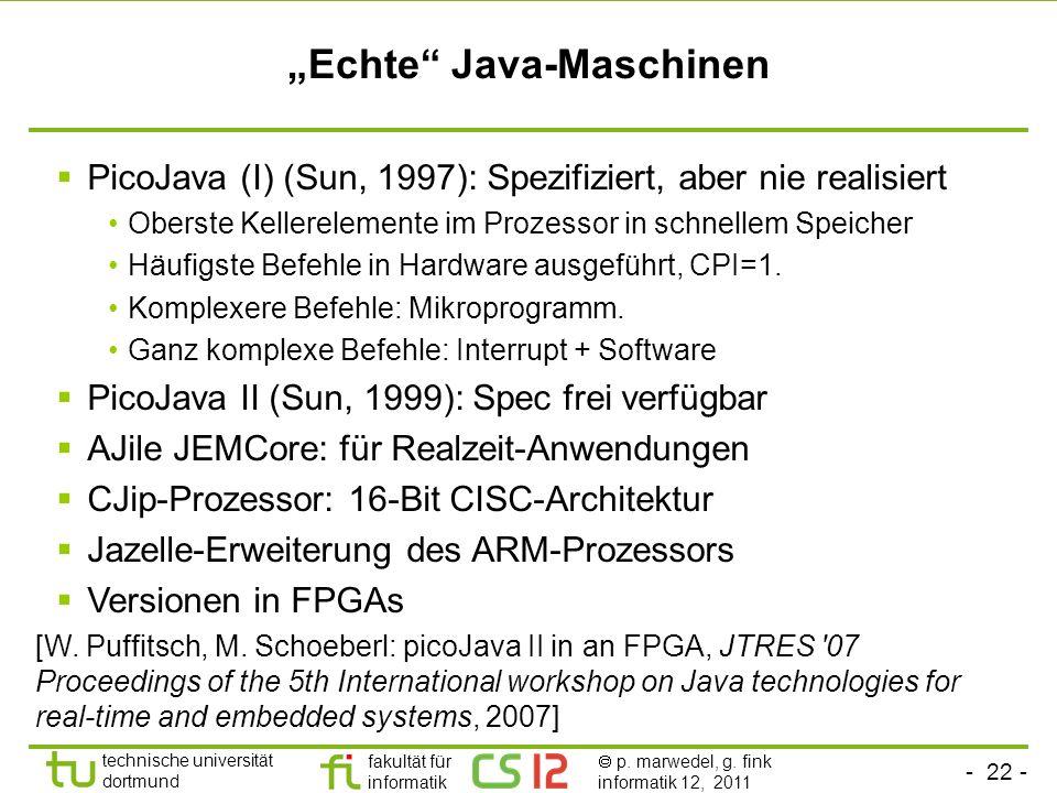 """""""Echte Java-Maschinen"""