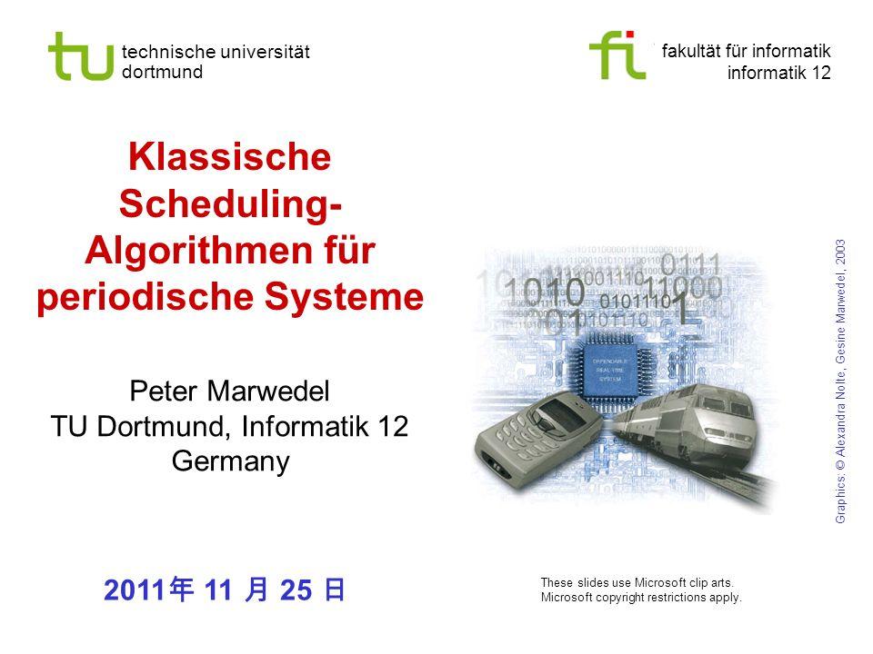 Klassische Scheduling-Algorithmen für periodische Systeme