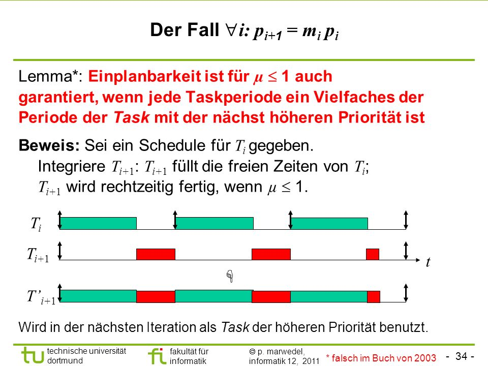 Der Fall i: pi+1 = mi pi