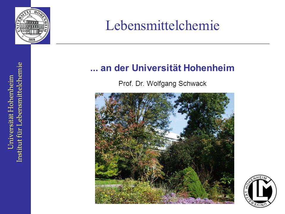 ... an der Universität Hohenheim
