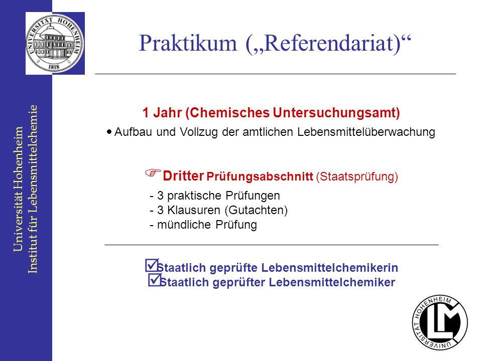 """Praktikum (""""Referendariat)"""