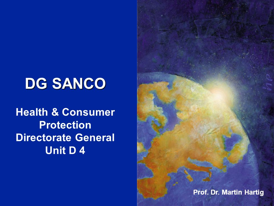 Health & Consumer Protection