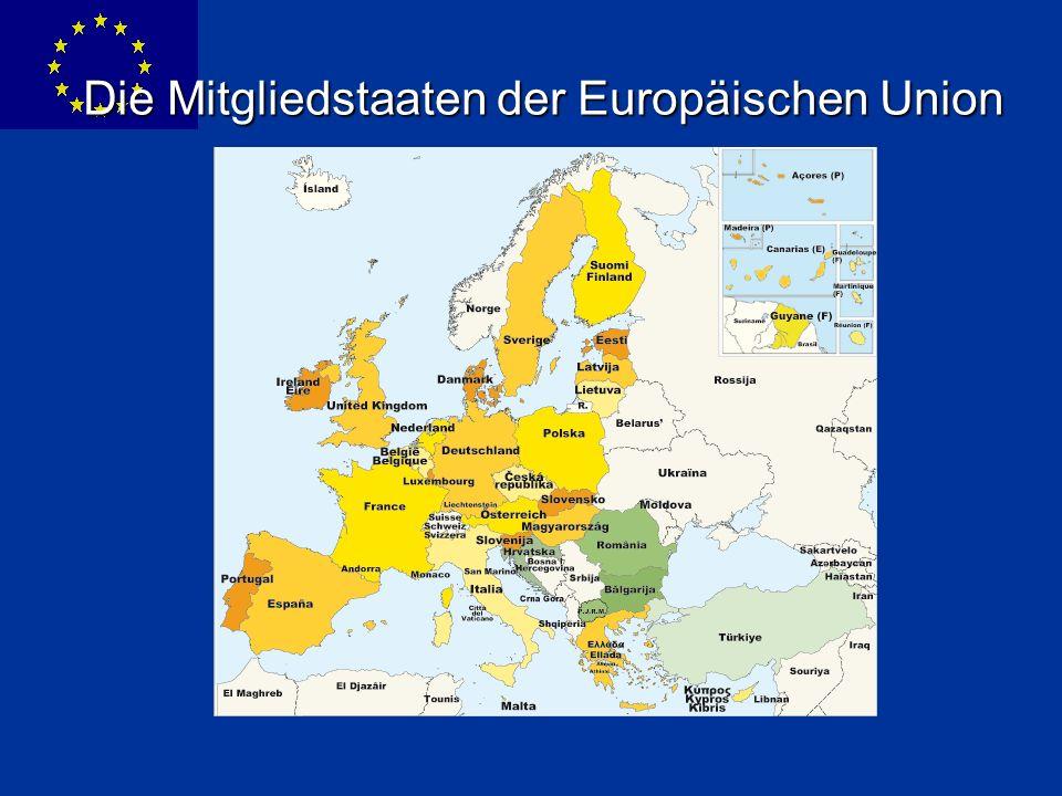 Die Mitgliedstaaten der Europäischen Union