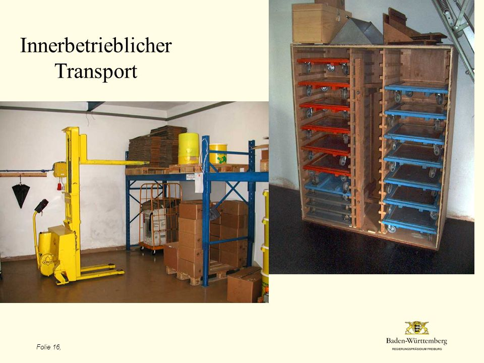 Innerbetrieblicher Transport Folie 16,