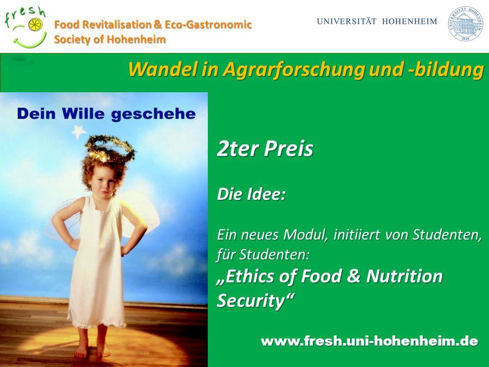 2ter Preis Wandel in Agrarforschung und -bildung