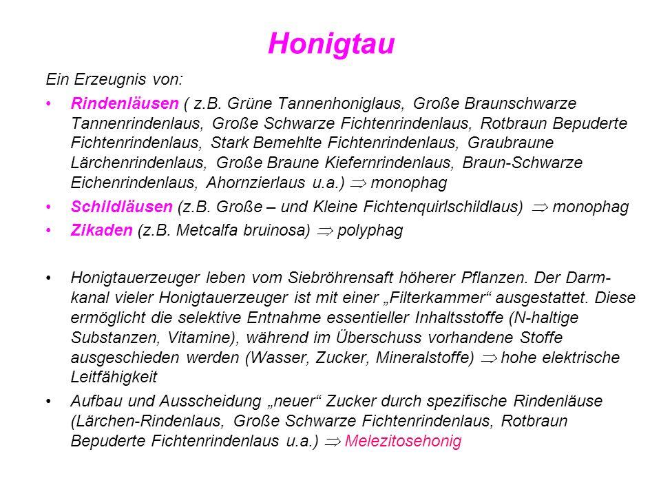 Honigtau Ein Erzeugnis von: