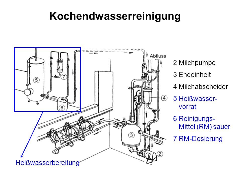 Kochendwasserreinigung