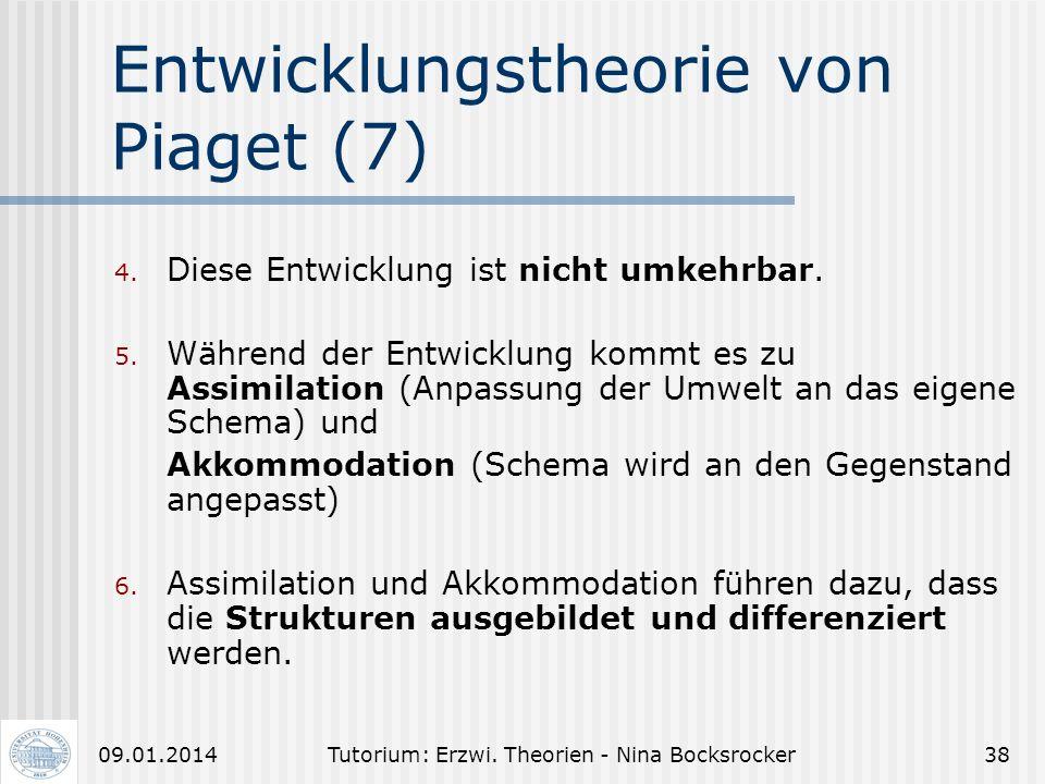 Entwicklungstheorie von Piaget (7)