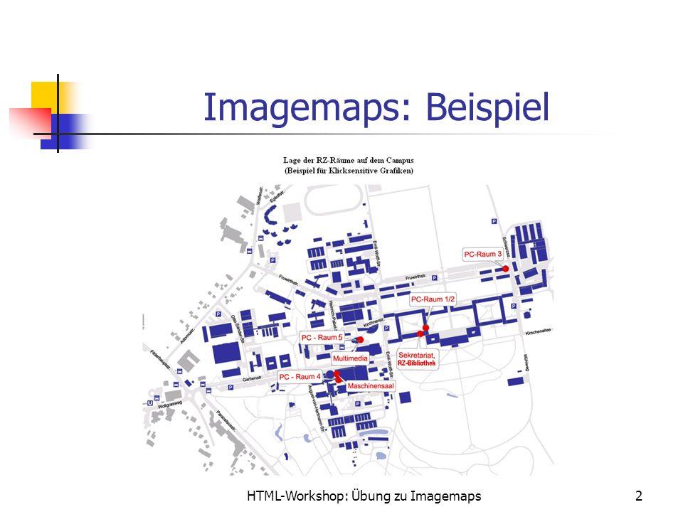 HTML-Workshop: Übung zu Imagemaps