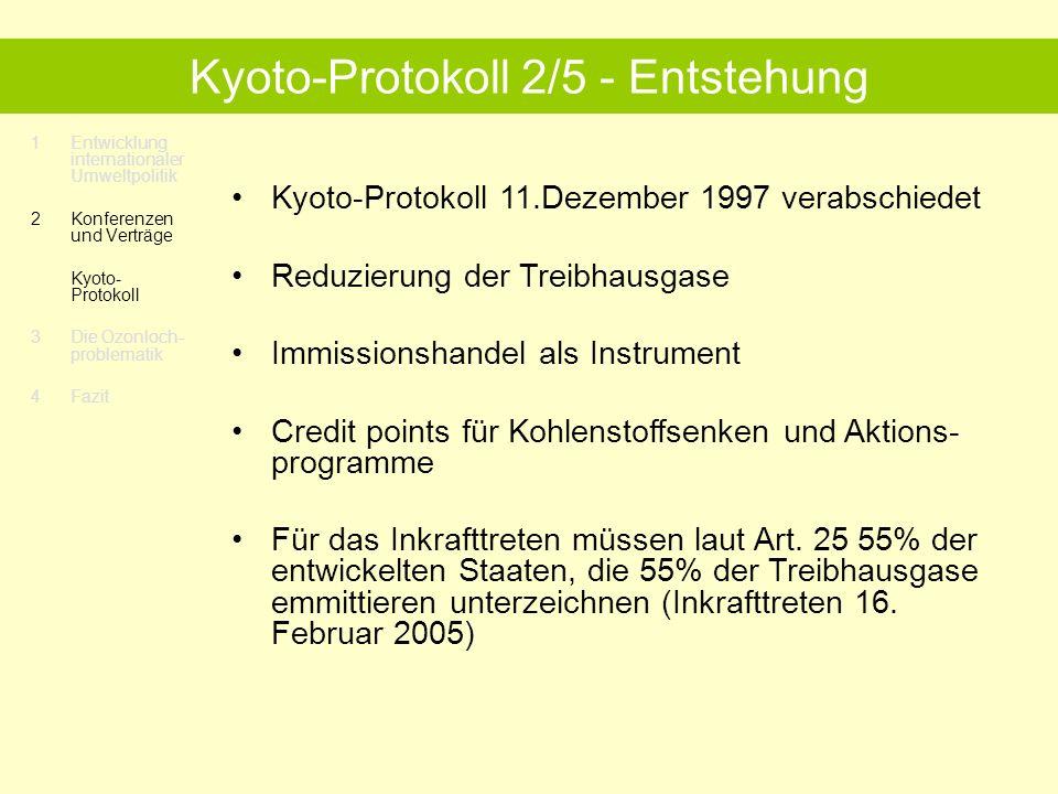 Kyoto-Protokoll 2/5 - Entstehung