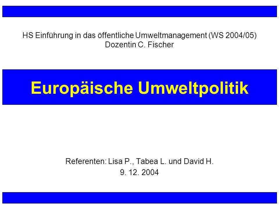 Europäische Umweltpolitik