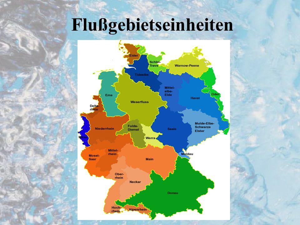 Flußgebietseinheiten