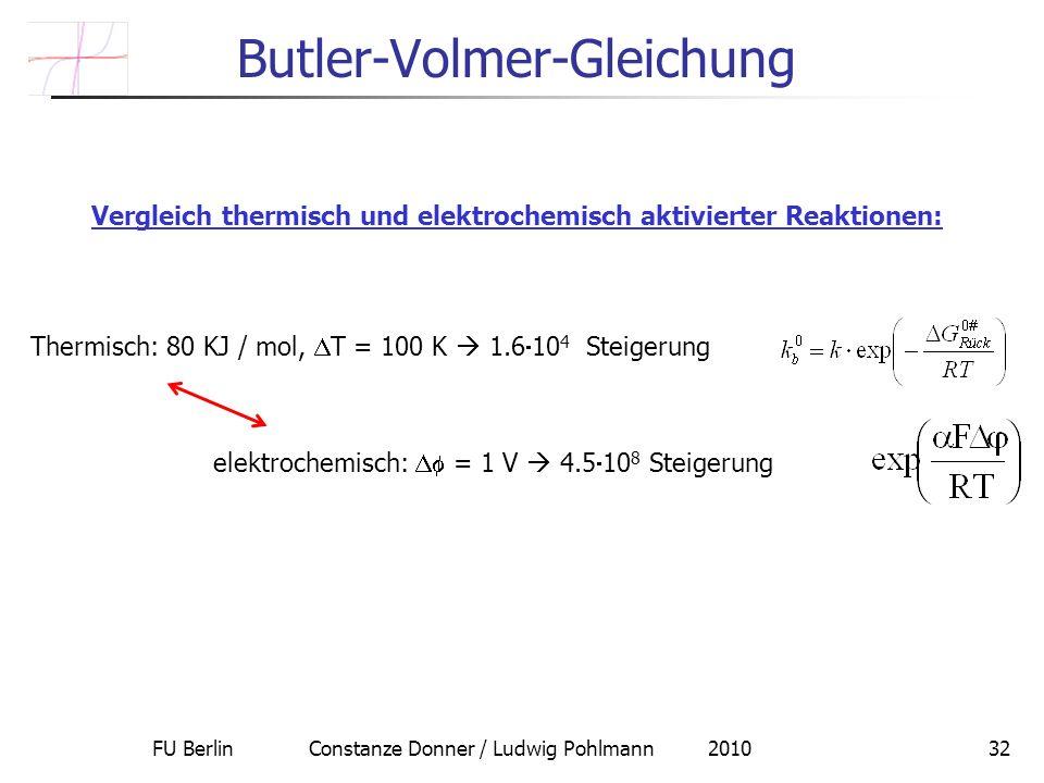 Butler-Volmer-Gleichung