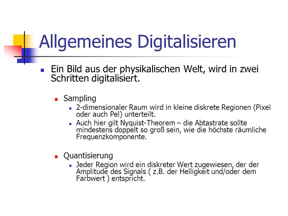 Allgemeines Digitalisieren
