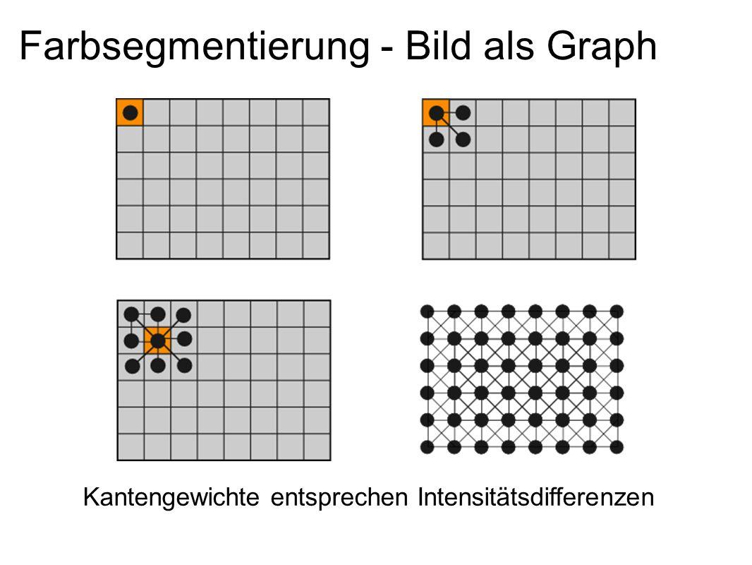Farbsegmentierung - Bild als Graph