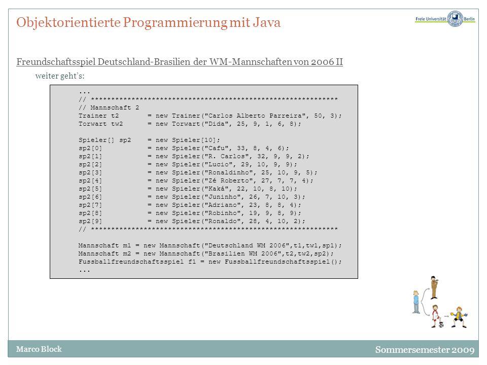 Objektorientierte Programmierung mit Java