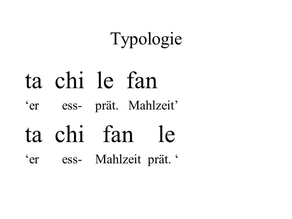 ta chi le fan ta chi fan le Typologie 'er ess- prät. Mahlzeit'