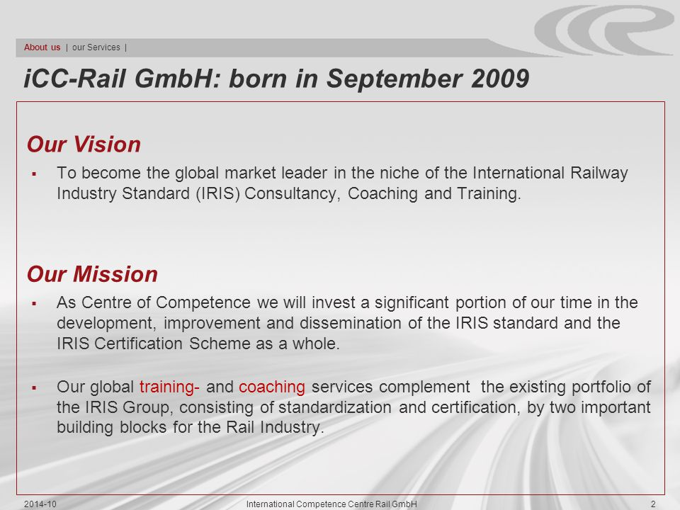 International Competence Centre Rail GmbH
