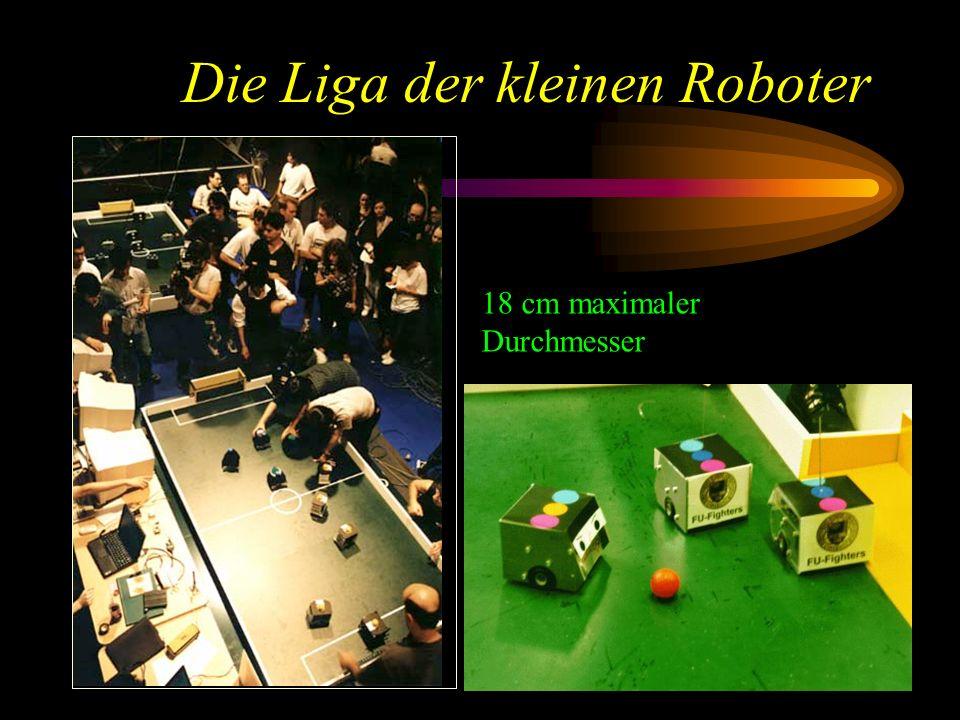 Die Liga der kleinen Roboter